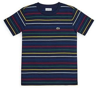 Lacoste Little Boy's & Boy's Multicolor Striped T-Shirt