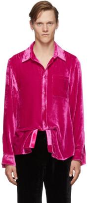 Sies Marjan Pink Silk Sander Fluid Shirt