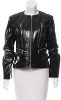 Celine Coated Leather Jacket