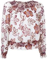 Tory Burch floral print blouse - women - Silk/Polyester - 4