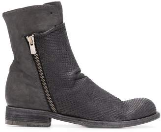 Officine Creative Hubble textured boots