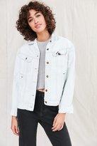 Urban Outfitters Urban Renewal Remade Bleach-Out Denim Trucker Jacket