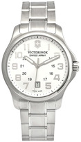 Swiss Army Officer 241359 Men's Silver Tone Stainless Steel Watch
