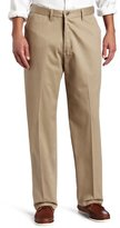 Lee Men's No-Iron Relaxed-Fit Flat-Front Pant