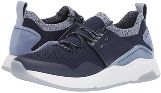 Cole Haan ZEROGRAND All-Day Trainer (Maritime Blue Knit/Maritime Blue Leather/Optic White) Women's Shoes