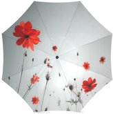 Poppy Flowers Umbrella Fathers/Mothers/Grandmas/Grandpas Novelty Gifts Presents Beautiful Poppies Poppy Flowers 100% Fabric And Aluminium Foldable High-quality Umbrella