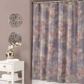 Jessica Simpson Mandalay Crinkle Multicolor Shower Curtain