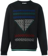 McQ by Alexander McQueen stitch detail sweatshirt - men - Cotton - XS