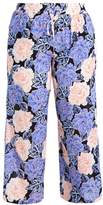 Evans PASTEL CRINKLE WIDE LEG Trousers bright multi