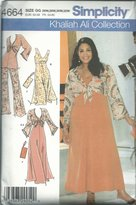 Simplicity 4664GG Sewing Pattern Womens Khaliah Ali Collection Size 26W-32W
