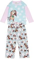 Peter Alexander peteralexander Girls Slinky Dog Pj Set