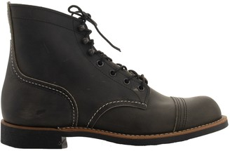 Red Wing Shoes Iron Ranger Charcoal