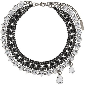 Ermanno Scervino Multi-Chain Gem Necklace
