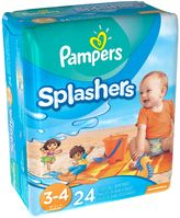 Pampers Splashers 24-Count Size 3-4 Disposable Swim Pants