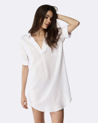 Deshabille Freedom Shirt Dress