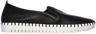 Skechers Sepulveda Blvd - Cityfied 27053 Black Flat Shoe
