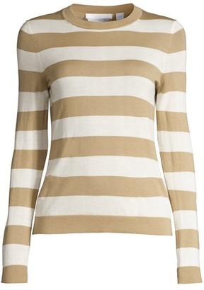 HUGO BOSS Fecilia Striped Superfine Merino Sweater