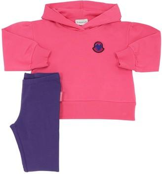 Moncler Cotton Sweatshirt Hoodie & Leggings