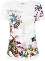 Etro floral print T-shirt - women - Cotton - 42