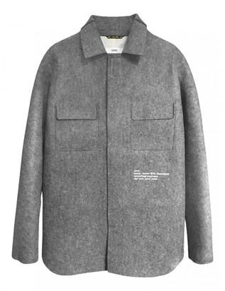 Oamc Grey Wool Jackets