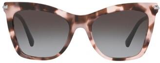 Valentino Stud-Embellished Cat Eye Sunglasses