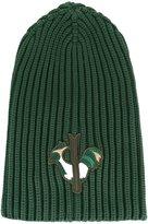 Rossignol embroidered logo beanie - men - Polyamide - One Size