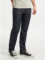Levi's 501 Straight Leg Selvedge Jeans, Denim