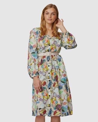 gorman Crayon Garden Shirt Dress