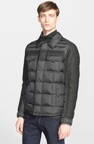 Moncler Men's 'Blais' Mixed Media Down Jacket