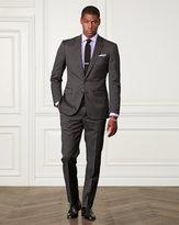 Ralph Lauren Slim Striped Wool Suit