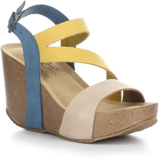 Bos. & Co. Lamar Platform Wedge Sandal