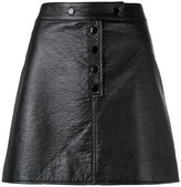 Courreges buttoned mini-skirt