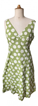 Boden Green Cotton Dresses