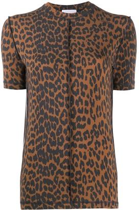 Ganni leopard-print T-shirt