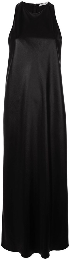 Tibi Celia draped bias dress