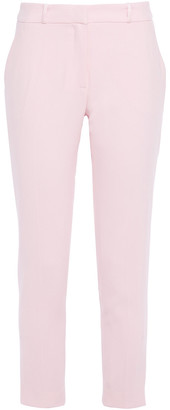 Claudie Pierlot Cropped Crepe Tapered Pants