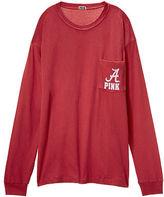 PINK University of Alabama Long Sleeve Campus Tee