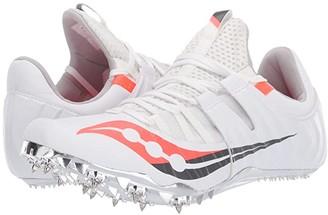 Saucony Showdown 5 (White/Vizi Red) Women's Shoes