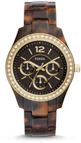 Fossil Stella Multifunction Tortoise Acetate Watch