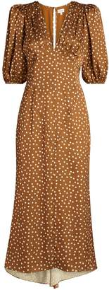 Ronny Kobo Polka-Dot Callie Dress