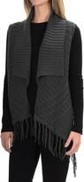 August Silk Completer Novelty Sweater - Sleeveless (For Women)