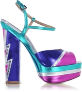 DSQUARED2 Glam Flash Platform Ziggy Sandal