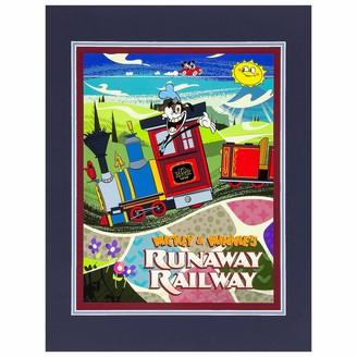 Disney Mickey & Minnie's Runaway Railway Deluxe Print