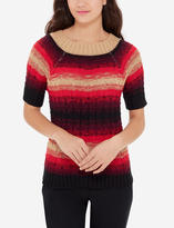 The Limited Short Sleeve Boat Neck Sweater