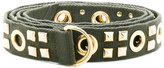 Alexandre Vauthier studded belt - women - Cotton/metal - One Size