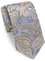 Saks Fifth Avenue Boxed Large Paisley Silk Tie