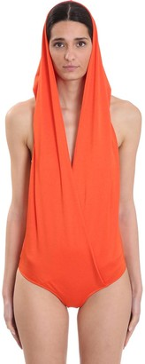 Balmain Body In Orange Polyamide