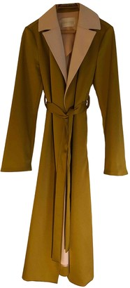 Stine Goya Gold Synthetic Trench coats