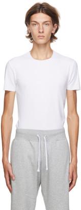 Ermenegildo Zegna White Crewneck Seamless T-Shirt