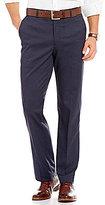Murano Alex Modern Slim Fit Flat-Front Windowpane Pants